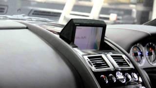 Aston Martin Popup Navigation System