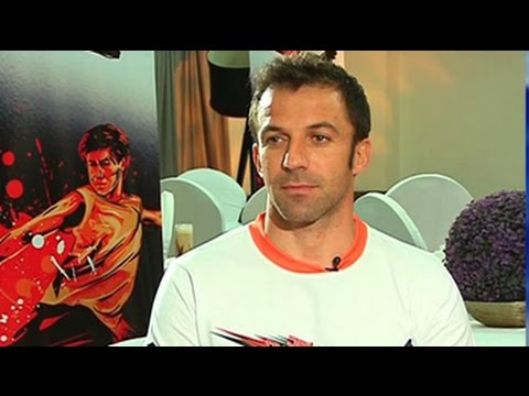Grateful for warm Indian welcome: Alessandro del Piero