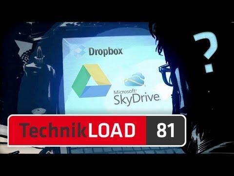 Google Drive, Microsoft SkyDrive und Dropbox im Vergleich [TechnikLOAD 81]