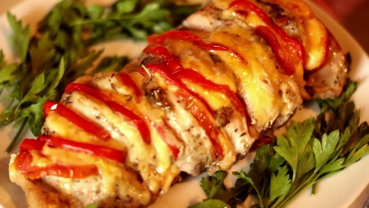 Мясо книжка в духовке рецепт из свинины