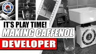 HOW TO MAKE CAFFENOL B&W FILM DEVELOPER - MY FIRST ATTEMPT