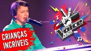 10 CRIANÇAS mais TALENTOSAS do The Voice! 😱 🎤