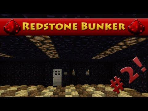 Minecraft Redstone Bunker - Episode 2 - Door Lock! (HD)