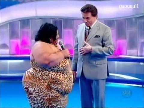 Mulher Fruta-pão Programa Silvio Santos 13/11