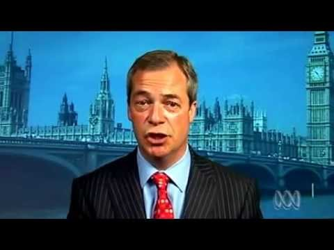 UKIP Nigel Farage full interview on Australian TV