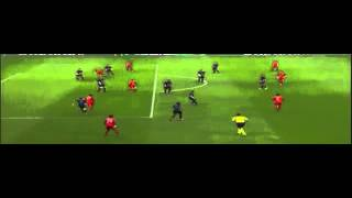 Lewandowski Goal   Bayern Munich vs Arsenal 1 0 04 11 2015