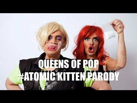 Kerry Katona - Atomic Kitten - Whole Again Parody - Queens Of Pop #4
