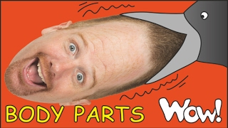 Body Parts for Kids + MORE English Funny Stories for Children | Steve and Maggie from Wow English TV
