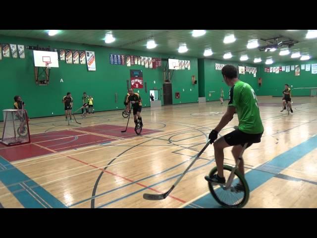 Bakau vs Australia - Second Half - Unicon 17 Unicycle Hockey Round Robin