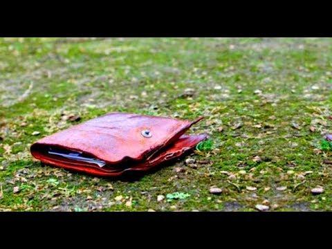 Парень нашел поношенный бумажник. Он и представить не мог...