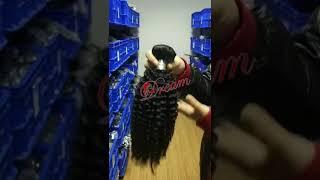 wholesale kinky bundles Indian hair vendor
