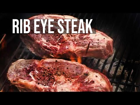 Rib Eye Steak Recipe by the BBQ Pit Boys