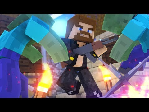 Minecraft Zombies #4 - ЕВГЕХА ПРОТИВ АРМИИ ЗОМБИ