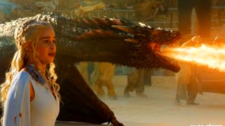 Daenerys e Drogon cena final Game Of Thrones 5ª temporada episodio 9