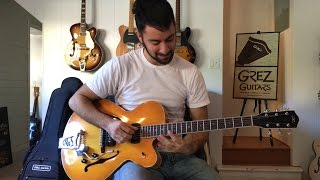 The Acoustic Sound of Spruce & Maple Top Archtops with Chris Newton