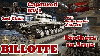 World of Tanks // Captured KV-1 // 2nd Class // Billotte's Medal // Xbox One