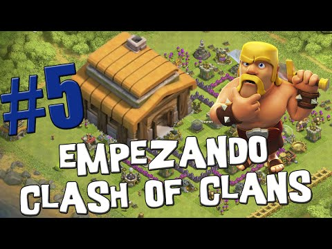 Ejércitos de farming con Ayuntamiento 5 - Empezando Clash of Clans con Android #6 [Español]