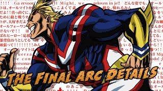 My Hero Academia's Ending Already Planned Out & That's Good News
