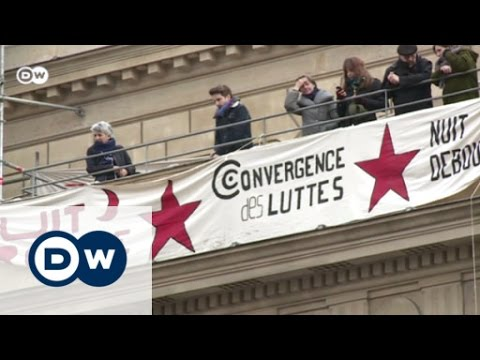 The 'Nuit Debout' protests in Paris | DW News
