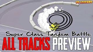Super Class Battle in All Tracks | FR Legends Drift & Customization Gameplay