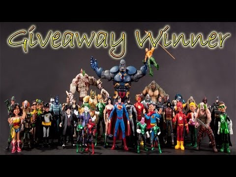 DC Collectibles Action Figure GIVEAWAY WINNER!