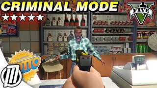 GTA 5 Mods: Criminal Mode, Starting from the Bottom! - PC Gameplay Live Stream (1080p)
