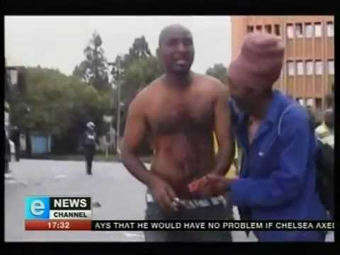 Man shot on camera by the police - Police brutality