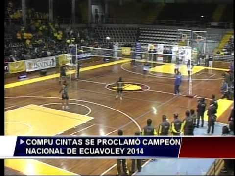 Compucintas es el campeón nacional del torneo de Ecuavóley