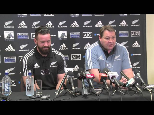 2014 Bledisloe Cup - All Blacks Team Naming Press Conference, Auckland