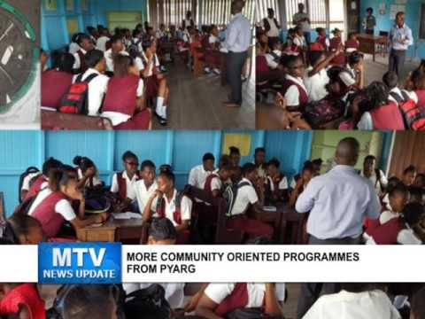 More community oriented programmes from PYARG (May 23, 2016)