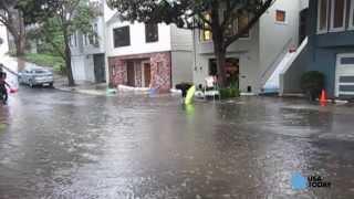 California storm floods San Francisco area