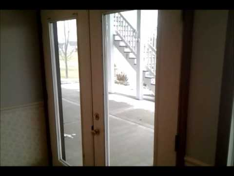 Replacing A French Door Tempered Glass Pane Diy Youtube