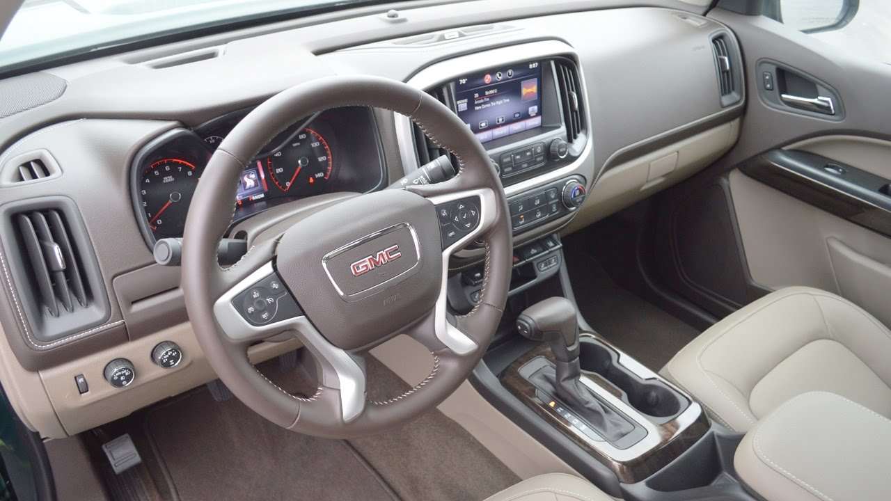 Gmc 2015 Gmc Canyon Interior Youtube