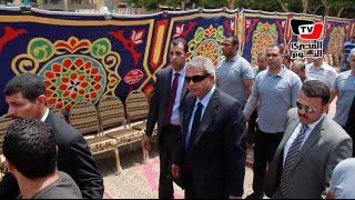 وزير الرياضة و«أبو ريدة» يشاركان في جنازة حسن الشاذلي