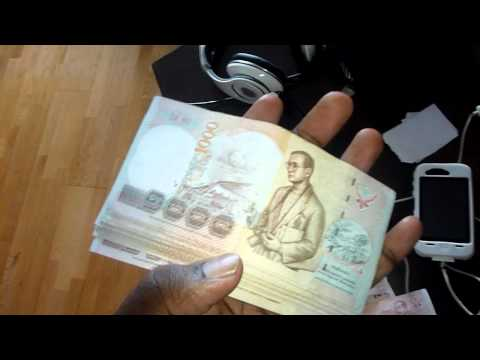 Thailand thai Currency Money & Salaries