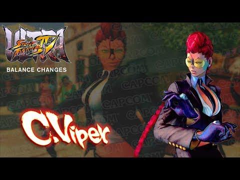 USFIV: C. Viper Balance Changes