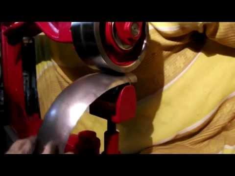 Самодельная гофрилка и изготовление крыла с помощью неё.