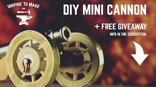 DIY Projects - Mini Cannon + Giveaway