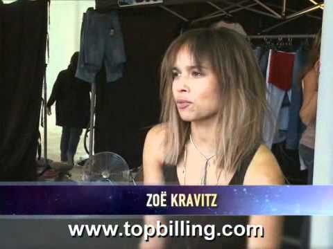 Top Billing | Zoe Kravitz | BTS