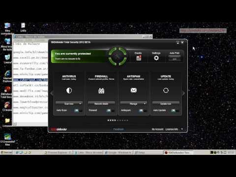 BitDefender Total Security 2012 Beta - Teste Preventivo (Preventive Test)