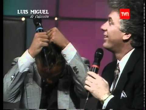 Luis Miguel - Entrevista - Contigo Aprendí A Capella - Chile 1989