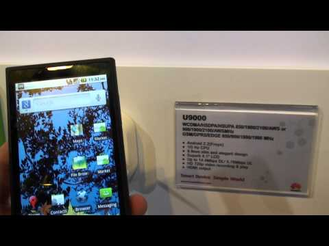 Huawei Ideos X5 and U9000 Hands On
