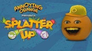 Annoying Orange: Splatter Up! Android GamePlay Trailer (HD) [Game For Kids]