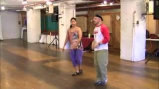"Tango Lesson: Finding your Style ""MO"" vis Leg Wraps"