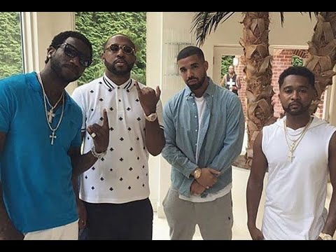 Drake Visits Gucci Mane At Mansion In Atlanta