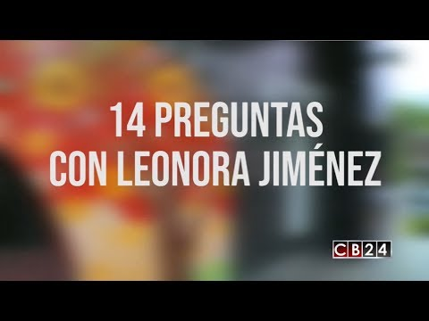 14 preguntas con Leonora Jiménez