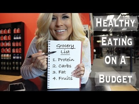 Eating Healthy on a Budget   Part 1