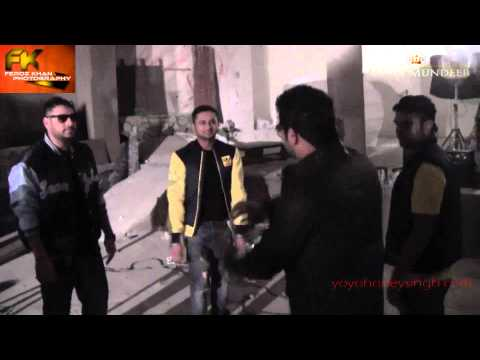 J Star  Yo Yo Honey Singh's Gabru Song (behind The Scenes) video