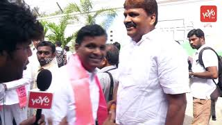 TRS Leader MLA Gadari Kishore About his Victory |CM KCR
