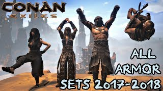 All Conan Exiles Armor Sets From 2017-2018